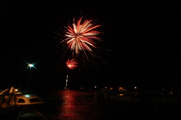 Belize New Years Eve Fireworks