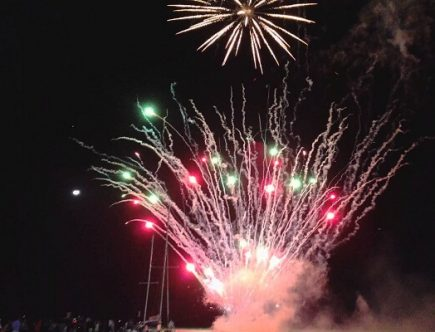 Belize New Years Fireworks