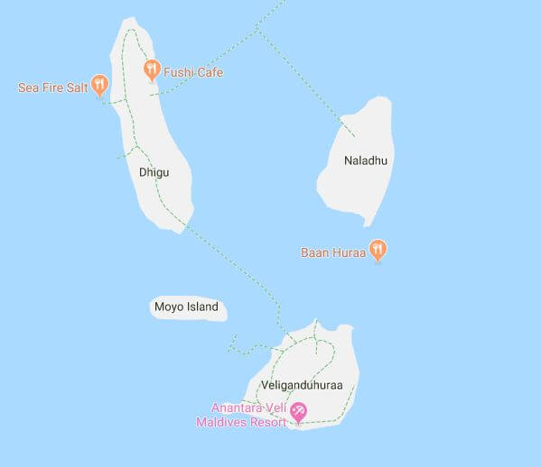 Anantara Veli Maldives Map