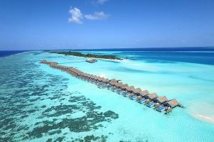 Lux Resort Maldives Aerial View