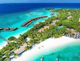 Sheraton Maldives Full Moon Resort Best Aerial View
