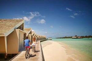 Cycling Roaming Around Lux South Ari Atoll Maldives