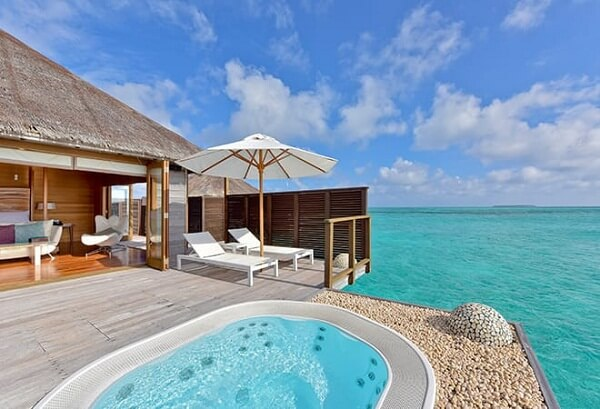 Deluxe Water Villa / Overwater Bungalow at Conrad Maldives