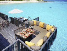 Water Villa at Gili Lankanfushi Maldives