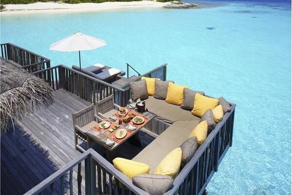 Water Villa at Gili Lankanfushi Maldives