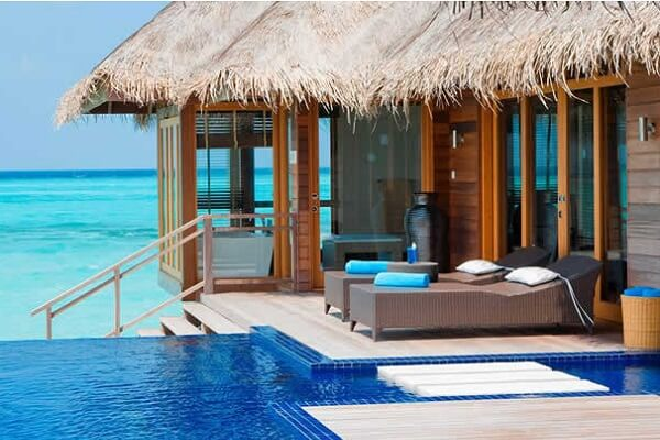 Maldives Lux Resort Overwater Bungalow