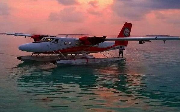 Adaaran Prestige Water Villas Seaplane
