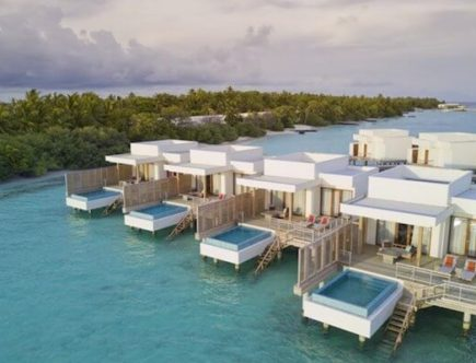 Overwater Bungalow Dhigali Maldives
