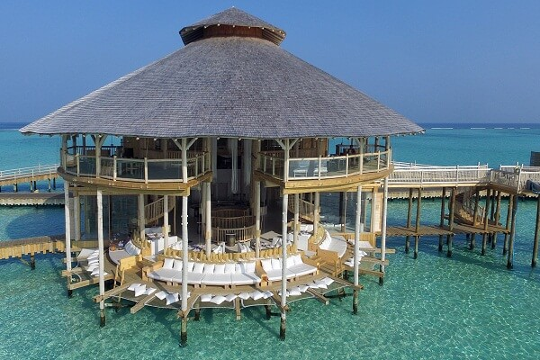 Overwater Bungalow at Soneva Jani Maldives