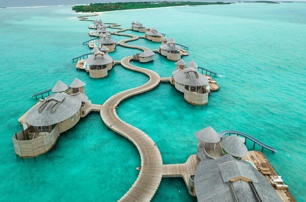 Aerial View @ Soneva Jani Resort Maldives