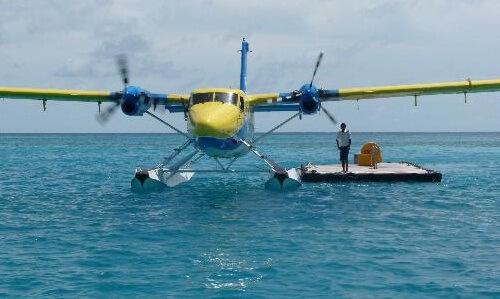 Sun Island Resort Seaplane
