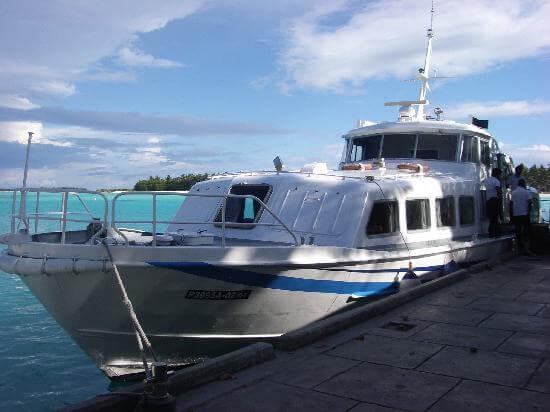 Speedboat @ Sun Island Resort