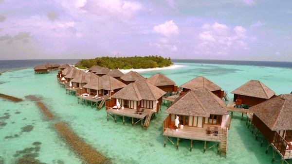 Overwater Bungalows @ Vakarufalhi Island Resort