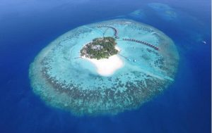Aerial Photograph @ Thulhagiri Island Resort and Spa, Maldives