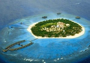 Aerial View @ Velaa Private Island Resort Maldives