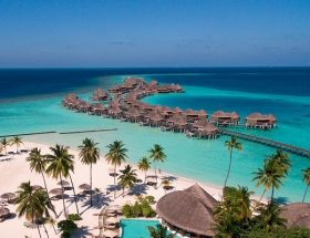 Aerial View @ Constance Halaveli Resort Maldives