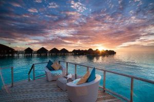 Romantic Sunset @ Constance Halaveli Resort Maldives