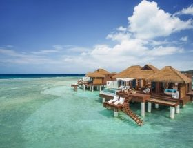 Overwater Bungalows near USA