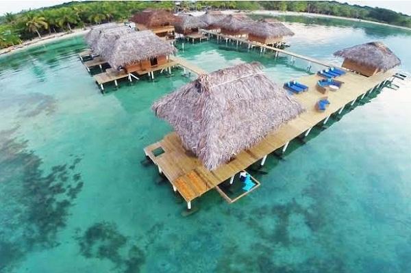 Azul Paradise Resort Overwater Retreats
