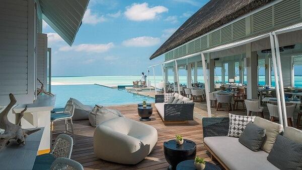 Blue Beach Club at Four Seasons Resort Maldives at Landaa Giraavaru