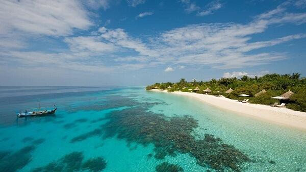Best Beach at Four Seasons Resort Maldives at Landaa Giraavaru