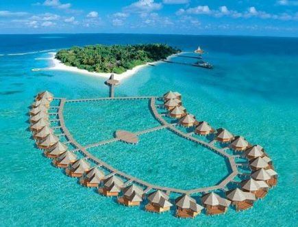Beautiful Island Resort in Maldives